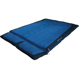 High Peak Twin Forester Schlafsack links blau/dunkelblau